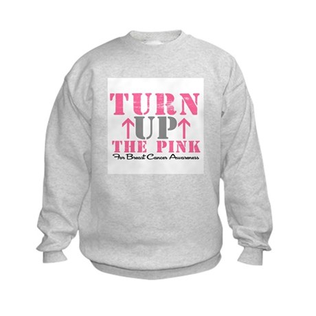 Turn Up The Pink (BC2) Kids Sweatshirt