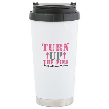 Turn Up The Pink (BC2) Ceramic Travel Mug