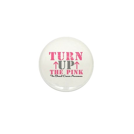 Turn Up The Pink (BC2) Mini Button (10 pack)