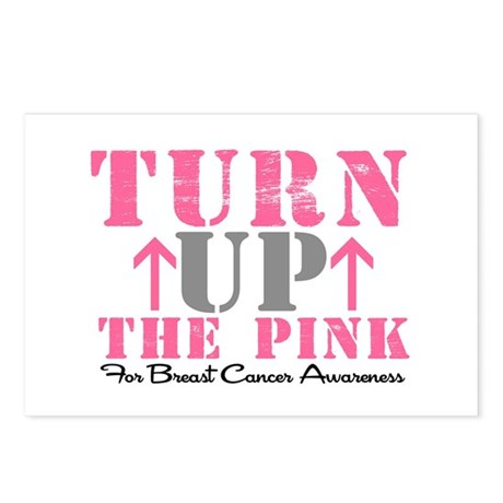 Turn Up The Pink (BC2) Postcards (Package of 8)