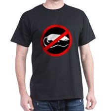 """No Rats"" Black T-Shirt"