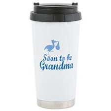 Soon to be Grandma Ceramic Travel Mug