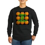 Trick or Treat 9 Great Pumpkins Long Sleeve Dark T
