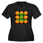 Trick or Treat 9 Great Pumpkins Women's Plus Size