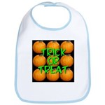 Trick or Treat 9 Great Pumpkins Bib