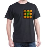 Trick or Treat 9 Great Pumpkins Dark T-Shirt