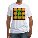 Trick or Treat 9 Great Pumpkins Fitted T-Shirt
