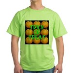 Trick or Treat 9 Great Pumpkins Green T-Shirt