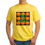Trick or Treat 9 Great Pumpkins Yellow T-Shirt