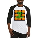Trick or Treat 9 Great Pumpkins Baseball Jersey
