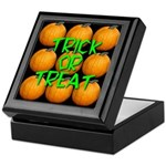 Trick or Treat 9 Great Pumpkins Keepsake Box