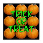 Trick or Treat 9 Great Pumpkins Tile Coaster
