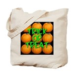 Trick or Treat 9 Great Pumpkins Tote Bag