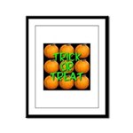 Trick or Treat 9 Great Pumpkins Framed Panel Print