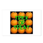 Trick or Treat 9 Great Pumpkins Postcards (Package