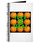 Trick or Treat 9 Great Pumpkins Journal