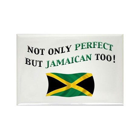 Perfect Jamaican 2 Rectangle Magnet (10 pack)