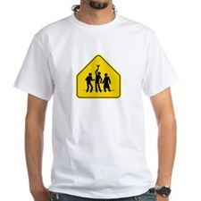 Beer Bong Road Sign Shirt