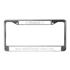 3 Angels Are Watching Over Me License Plate Frame