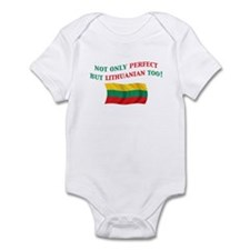 Perfect Lithuanian 2 Infant Bodysuit
