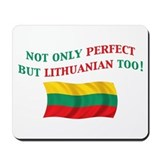 Perfect Lithuanian 2 Mousepad