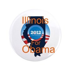 "Chicago Obama 3.5"" Button (100 pack)"