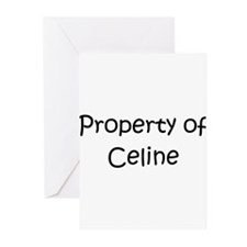 Cute Celine Greeting Cards (Pk of 20)