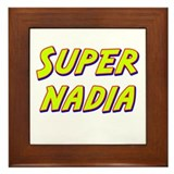 Super nadia Framed Tile