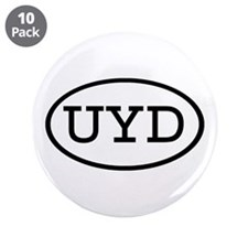 "UYD Oval 3.5"" Button (10 pack)"