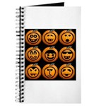 9 Cute Jack-o-lanterns Journal