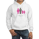 Army of 4 (2 girls) Hoodie