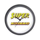 Super muhammad Wall Clock