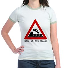 Cliff - End of the Road Jr. Ringer T-Shirt