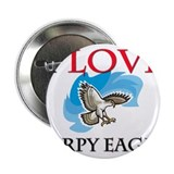 "I Love Harpy Eagles 2.25"" Button (10 pack)"