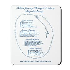Scriptural Rosary Mousepad