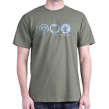 Peace Love Kayaking T-Shirt