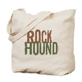 Rock Hound (Distressed) Tote Bag