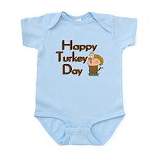 Happy Turkey Day Infant Bodysuit