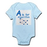 A is for Algorithm Infant Bodysuit