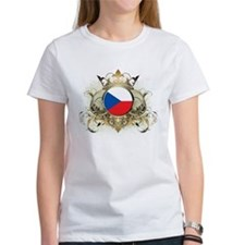 Stylish Czech Republic Tee
