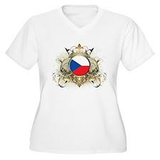 Stylish Czech Republic T-Shirt