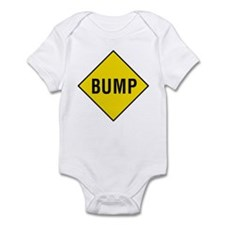 Yellow Bump Sign - Infant Creeper