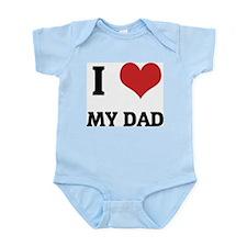 I Love My Dad Infant Creeper