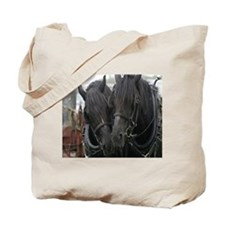 Percheron Draft Horses Tote Bag