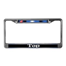 Top License Plate Frame