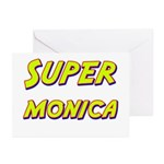Super monica Greeting Cards (Pk of 20)