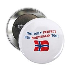 "Perfect Norwegian 2 2.25"" Button"