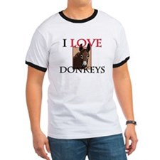 I Love Donkeys T