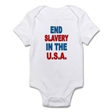 Unique Slavery Infant Bodysuit