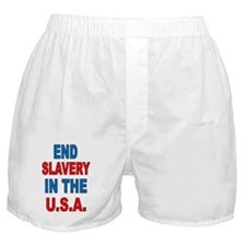 Cute Slavery Boxer Shorts